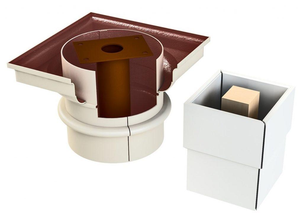 Fiberglass Column Covers and PVC Column Wrap